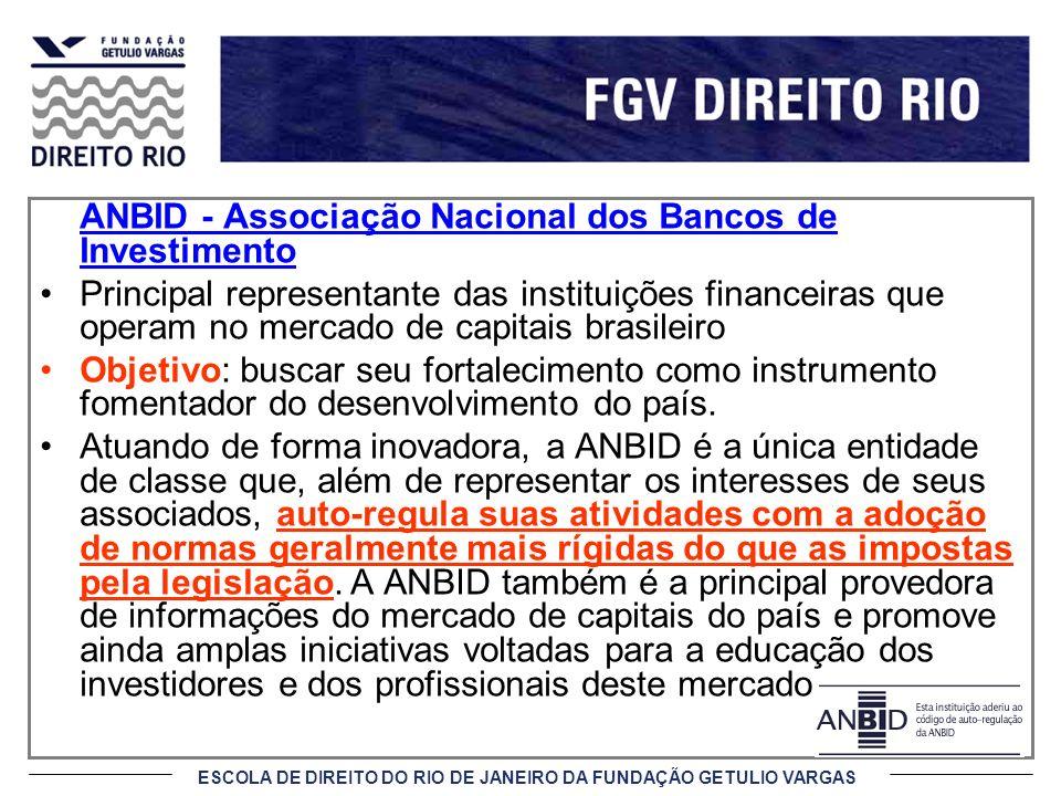 ANBID - Associação Nacional dos Bancos de Investimento