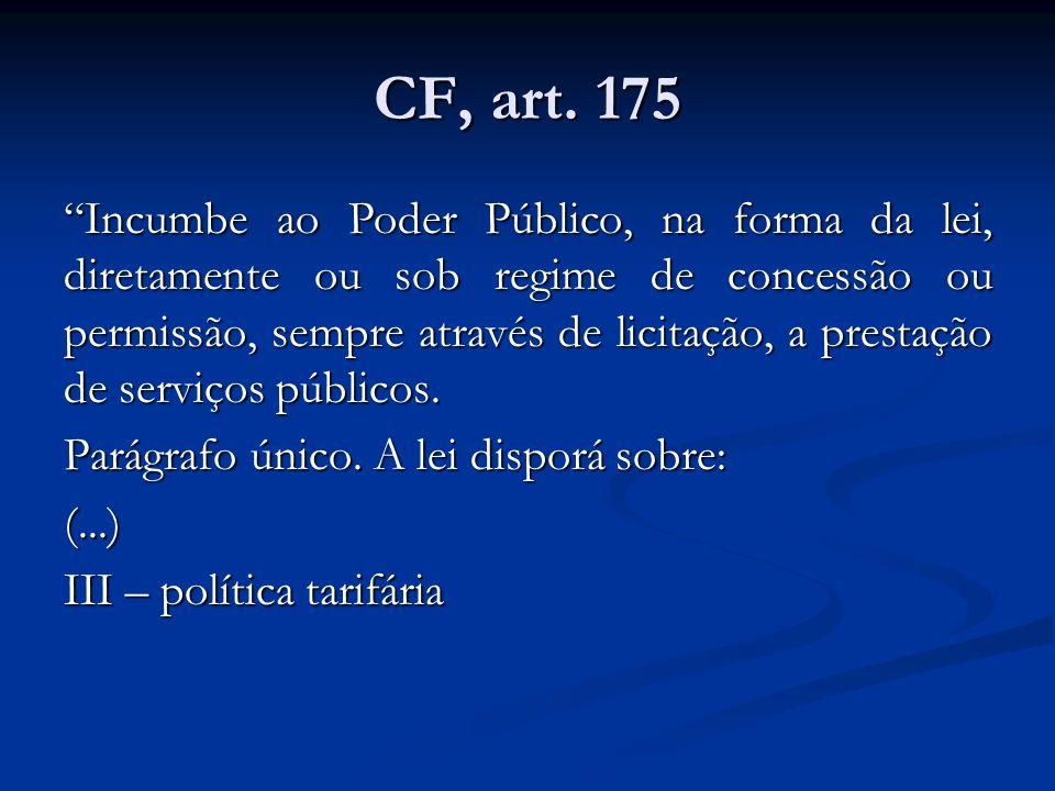 CF, art. 175