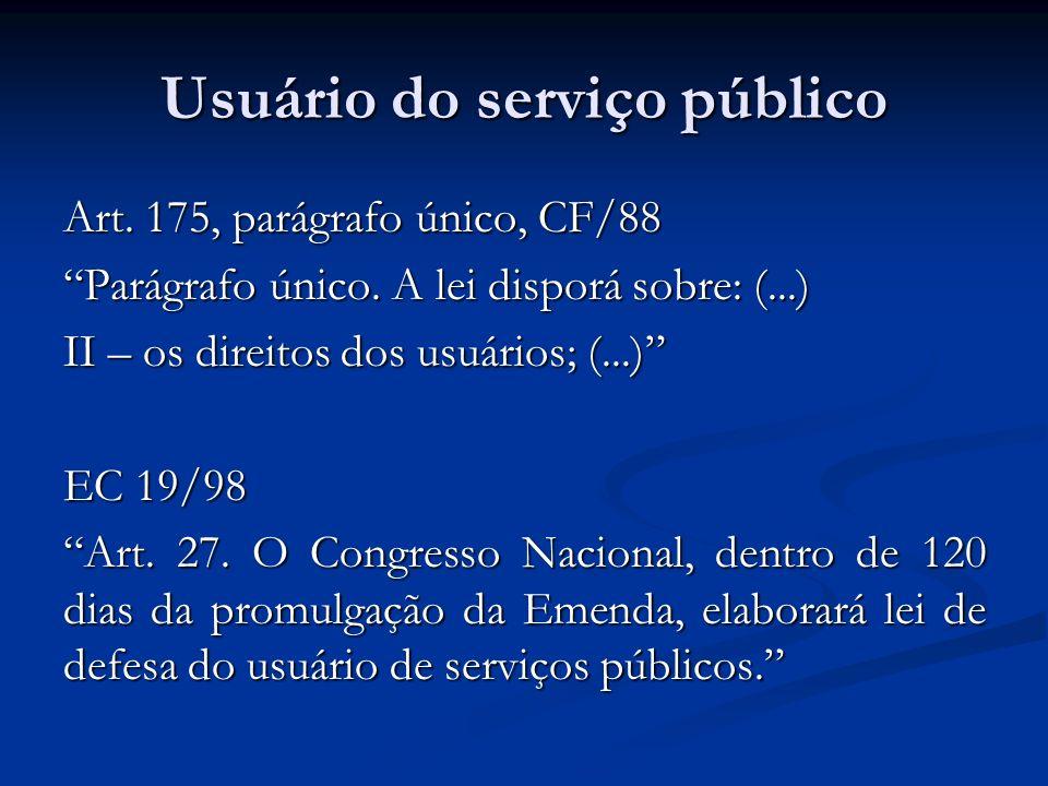 Usuário do serviço público