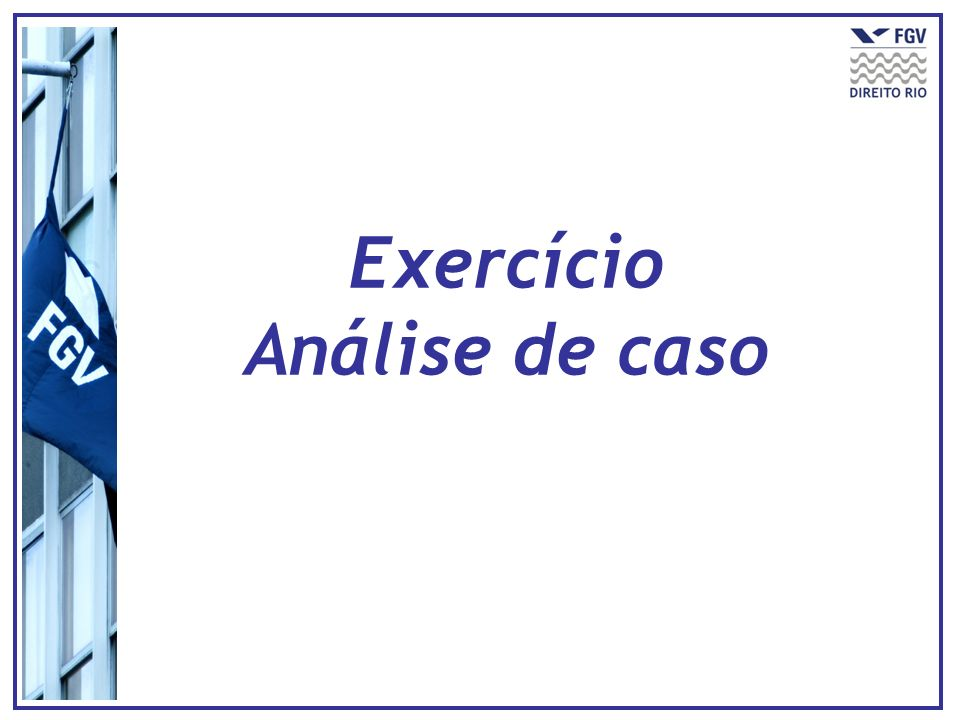 Exercício Análise de caso