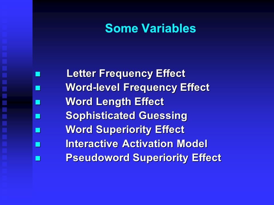 word frequency and the generation effect Word frequency effects in associative and item recognition memory   processing instructions and the generation effect: a test of the multifactor.