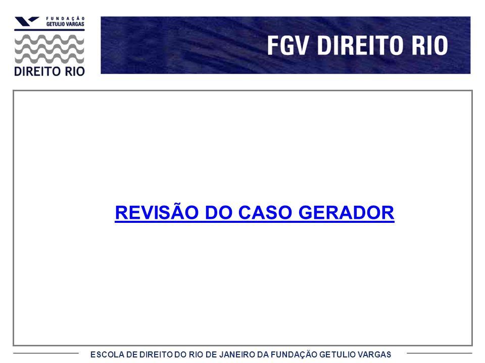 REVISÃO DO CASO GERADOR