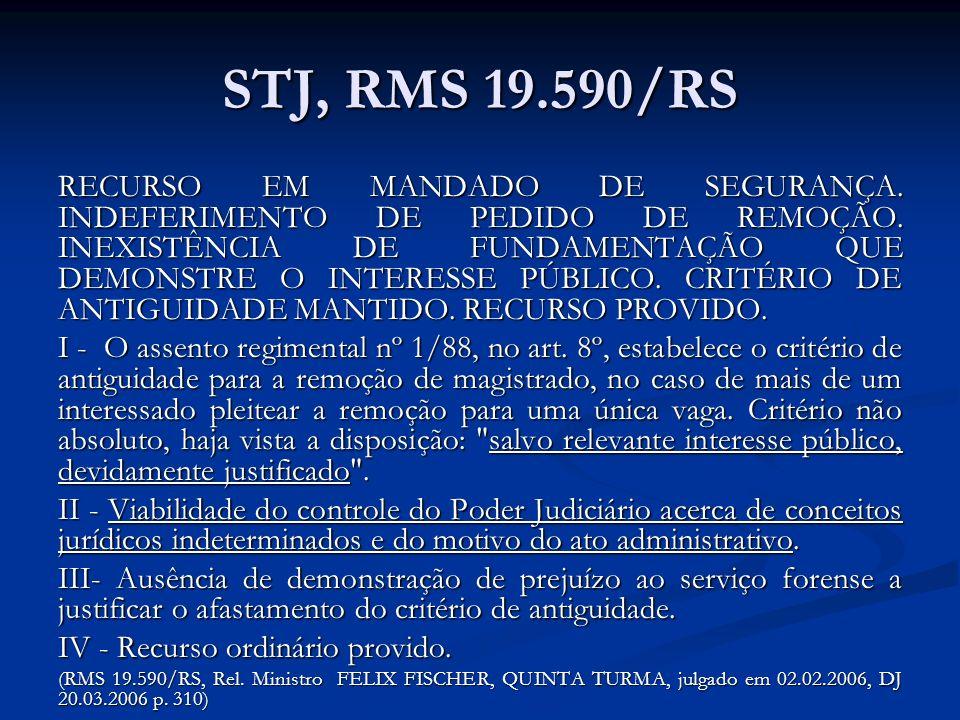 STJ, RMS 19.590/RS