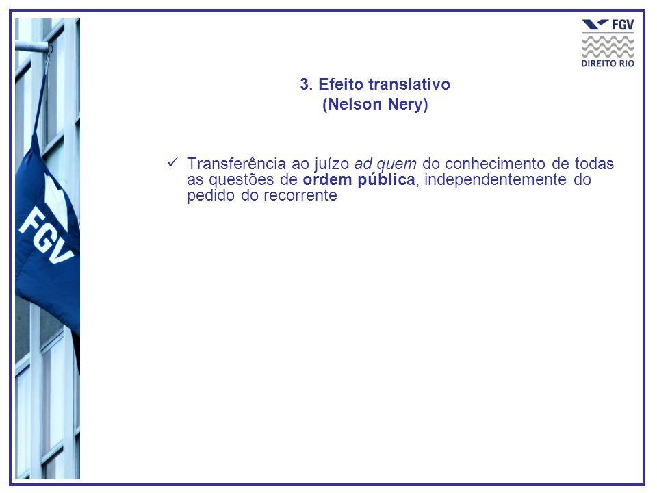 3. Efeito translativo (Nelson Nery)