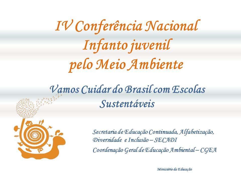 IV Conferência Nacional Infanto juvenil pelo Meio Ambiente