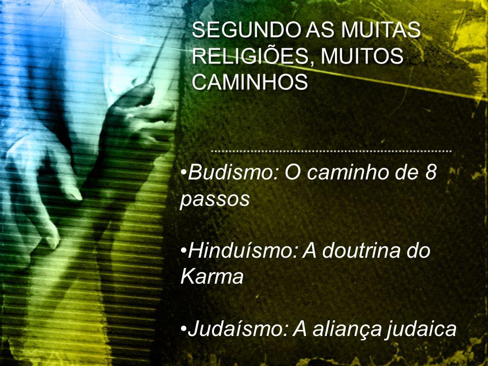 SEGUNDO AS MUITAS RELIGIÕES, MUITOS CAMINHOS
