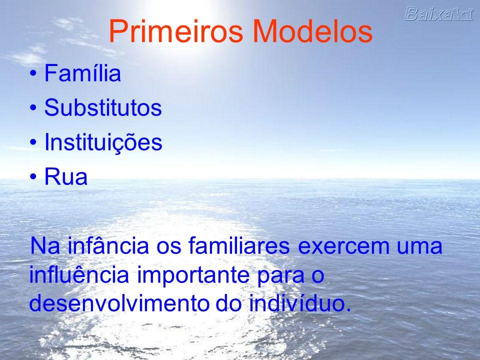 Primeiros Modelos Família Substitutos Instituições Rua