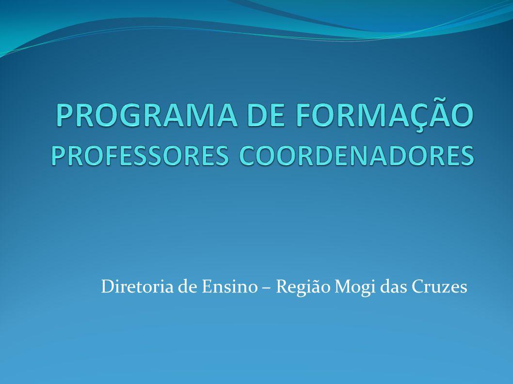 PROGRAMA DE FORMAÇÃO PROFESSORES COORDENADORES