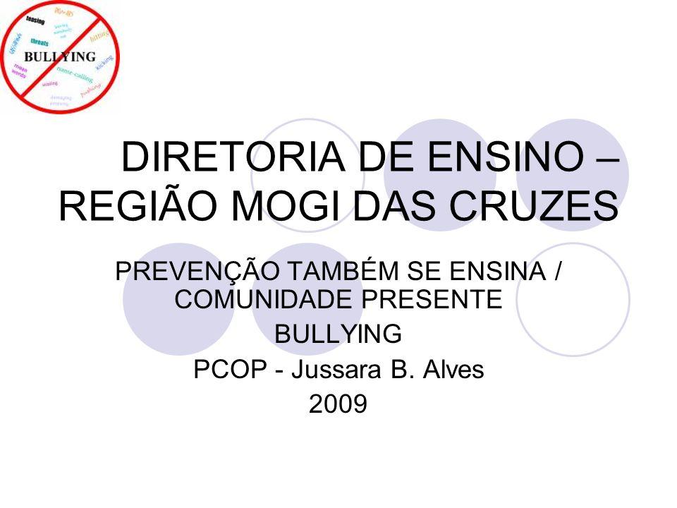 DIRETORIA DE ENSINO – REGIÃO MOGI DAS CRUZES