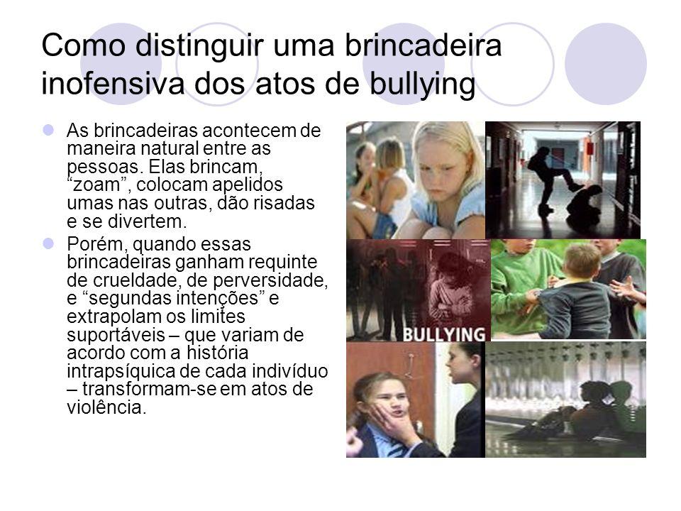 Como distinguir uma brincadeira inofensiva dos atos de bullying