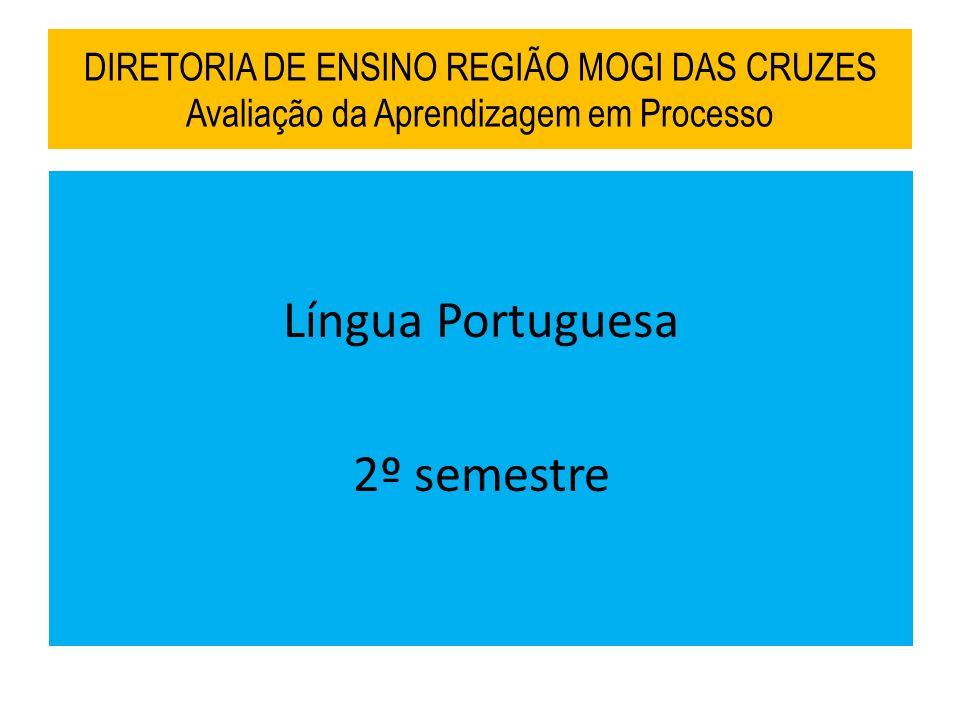 Língua Portuguesa 2º semestre
