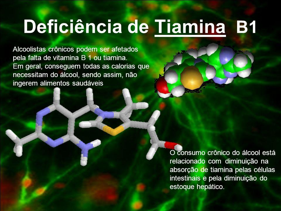 Deficiência de Tiamina B1