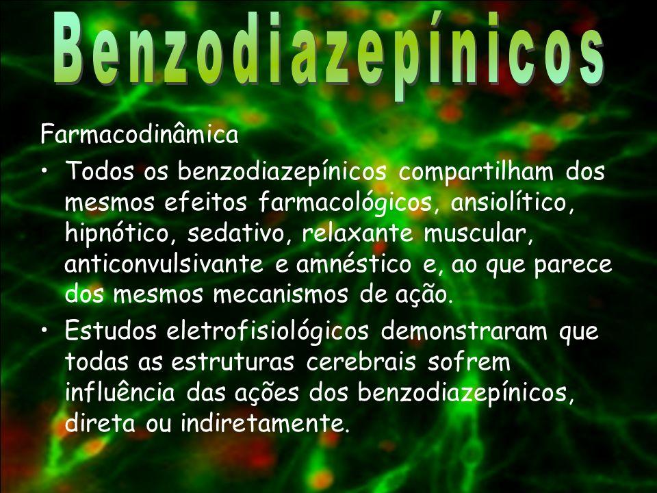 Benzodiazepínicos Farmacodinâmica