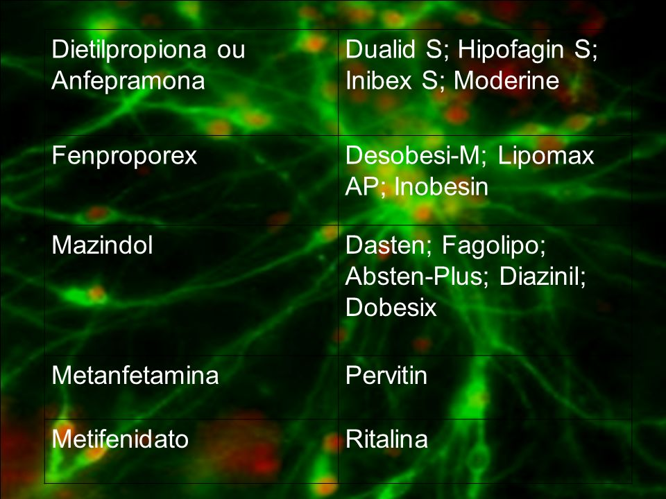 Dietilpropiona ou Anfepramona