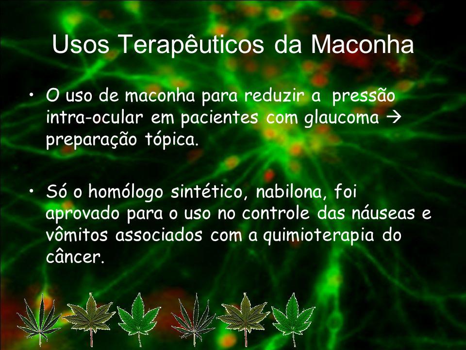 Usos Terapêuticos da Maconha