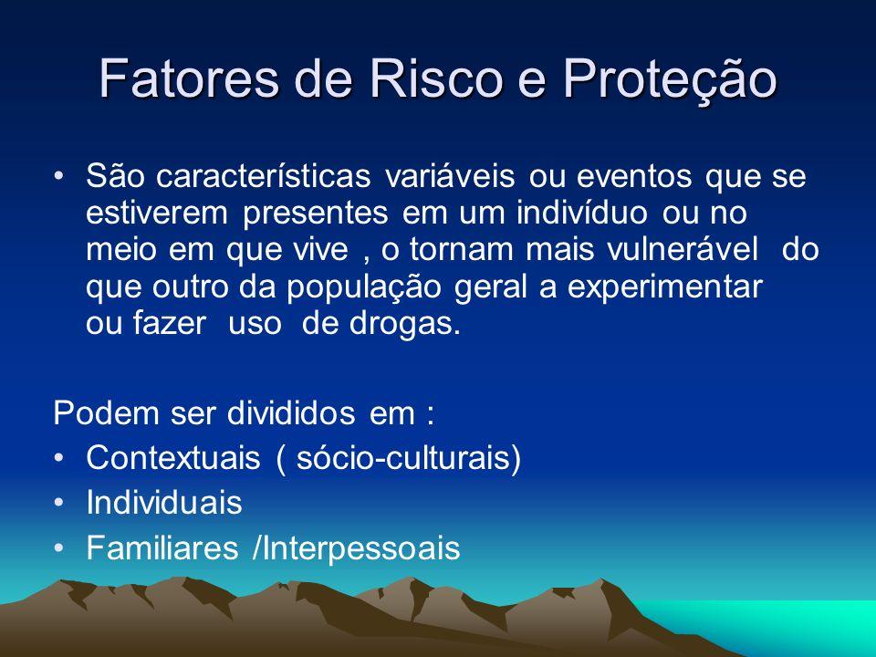Fatores de Risco e Proteção