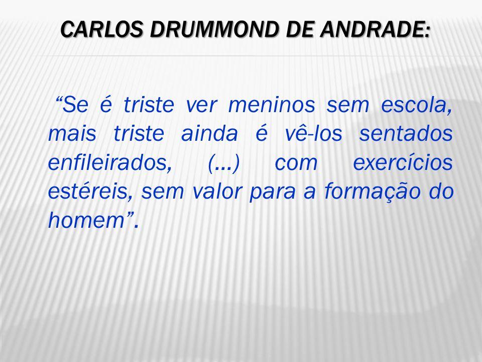 Carlos Drummond de Andrade: