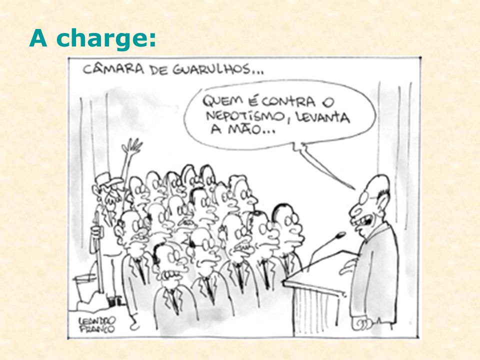 A charge: