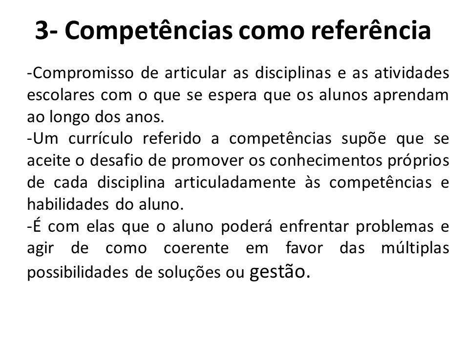 3- Competências como referência