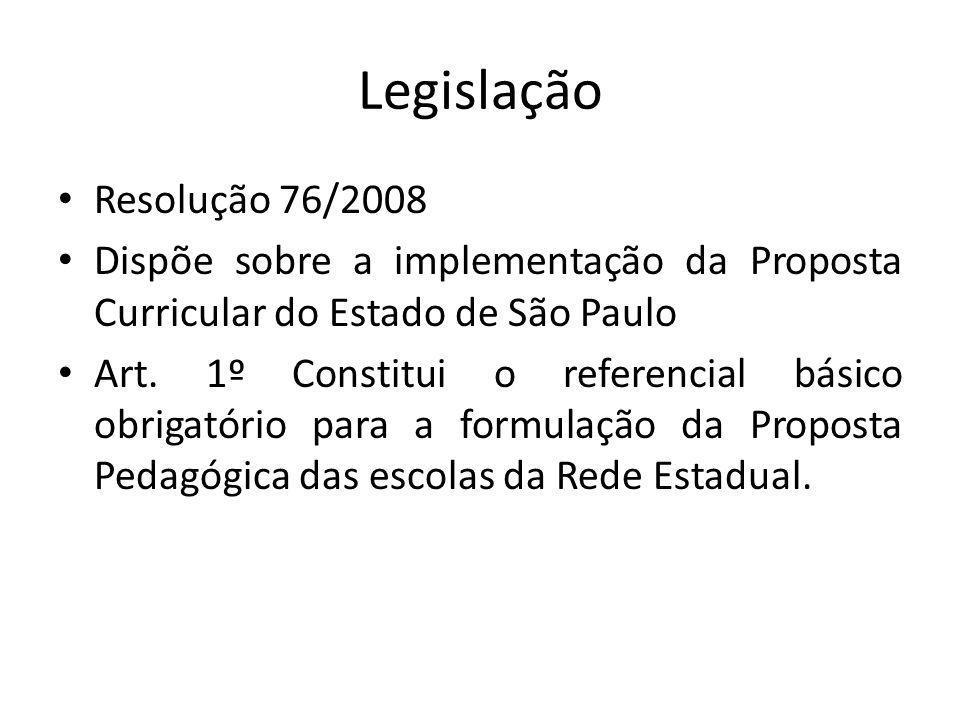 Legislação Resolução 76/2008