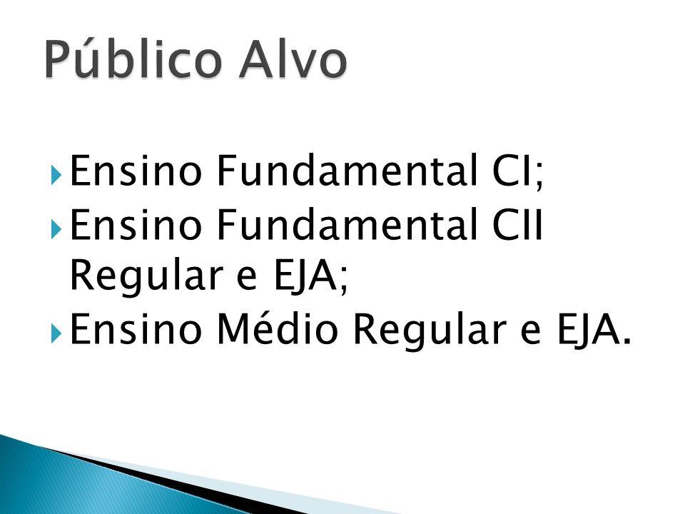 Público Alvo Ensino Fundamental CI;