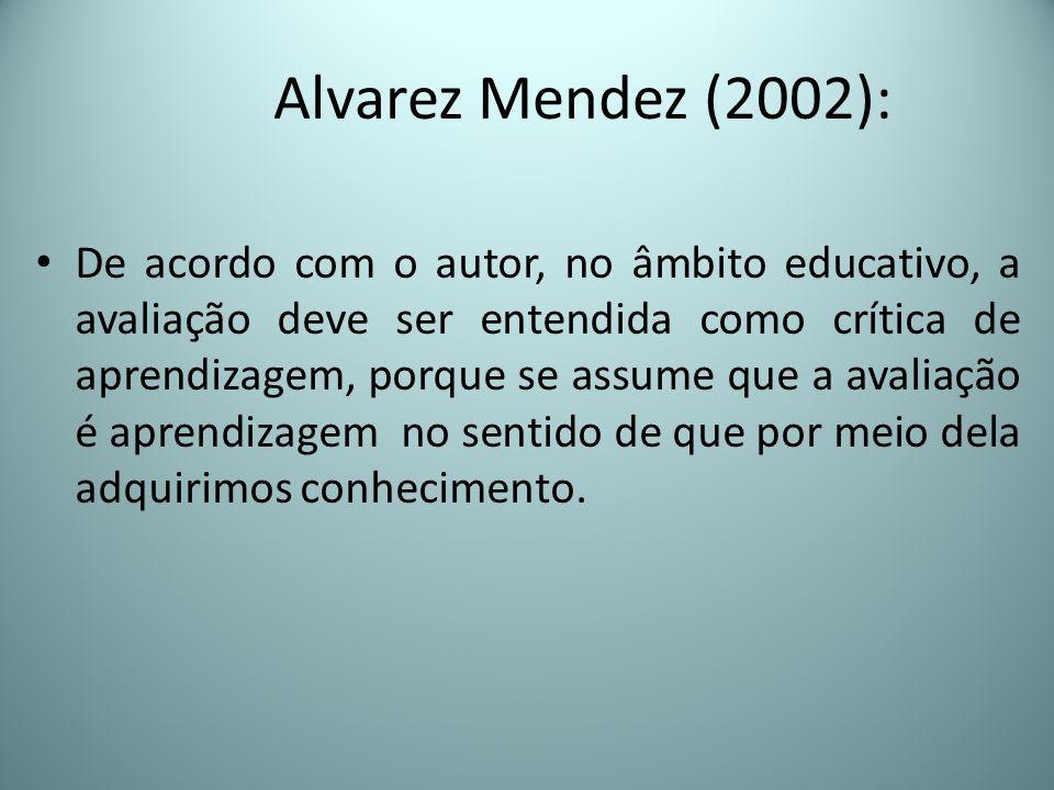 Alvarez Mendez (2002):