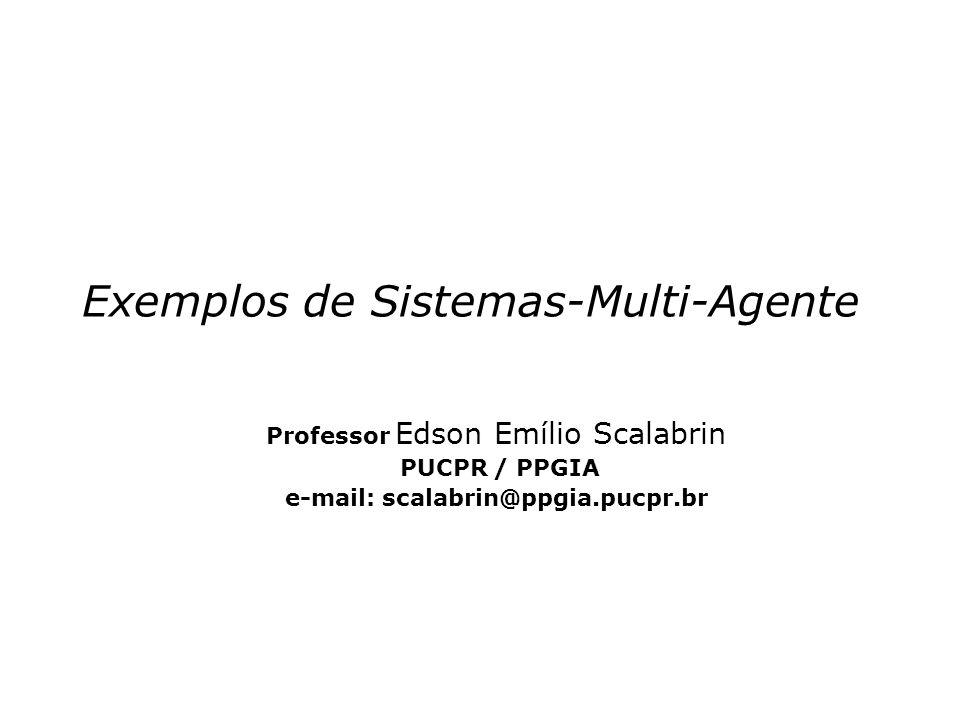 Exemplos de Sistemas-Multi-Agente