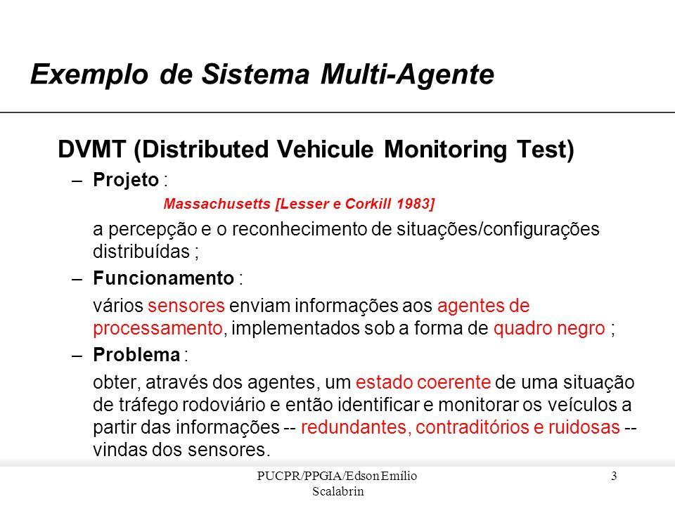 Exemplo de Sistema Multi-Agente