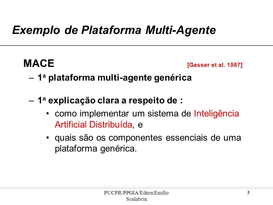 Exemplo de Plataforma Multi-Agente