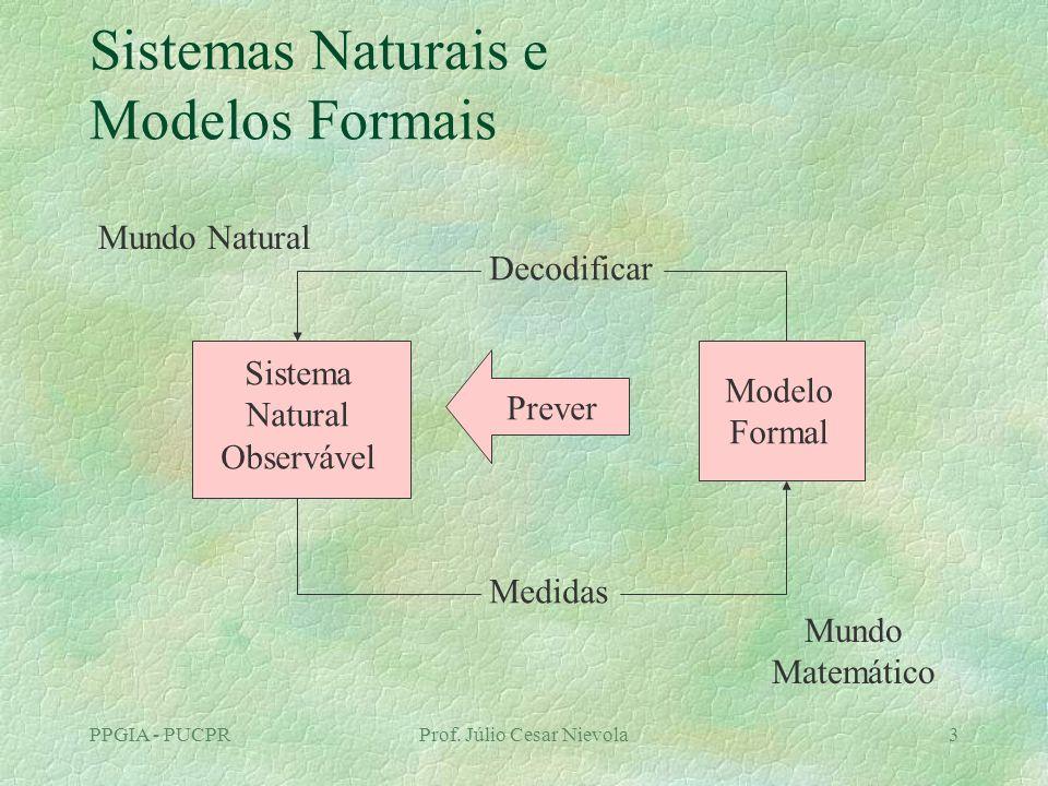 Sistemas Naturais e Modelos Formais