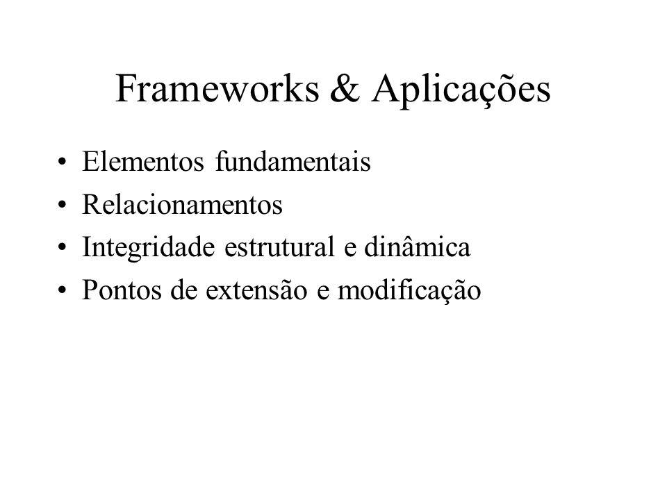 Frameworks & Aplicações