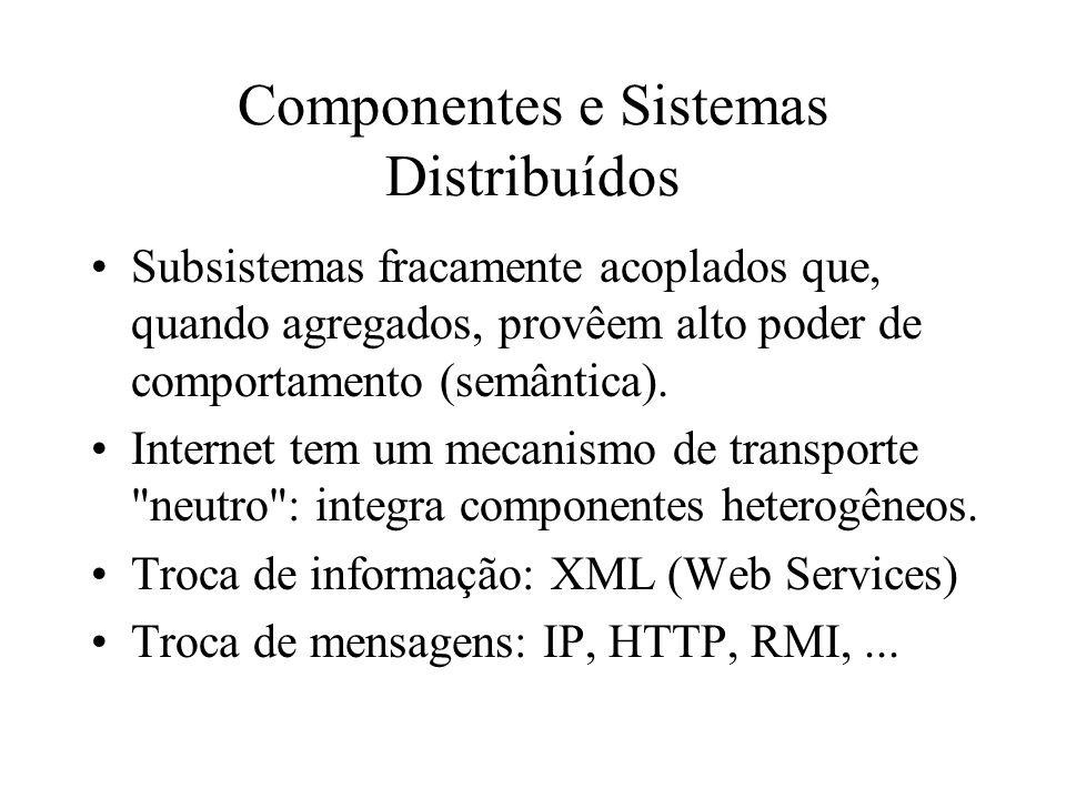 Componentes e Sistemas Distribuídos