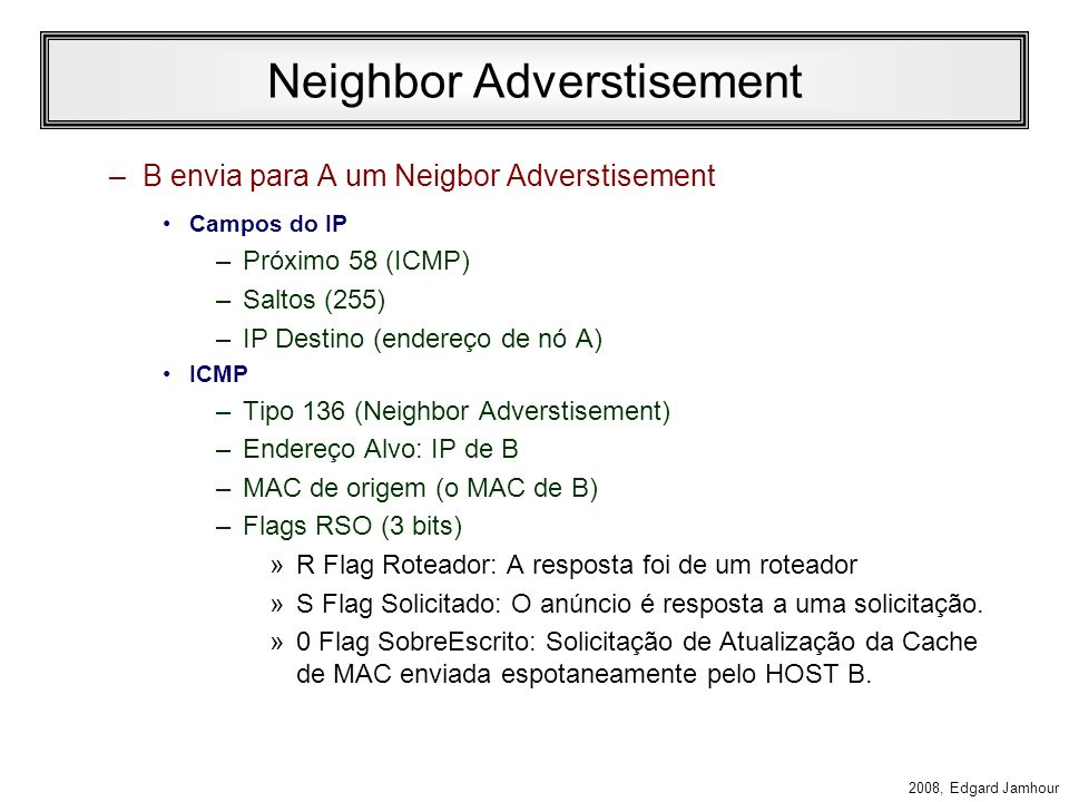 Neighbor Adverstisement