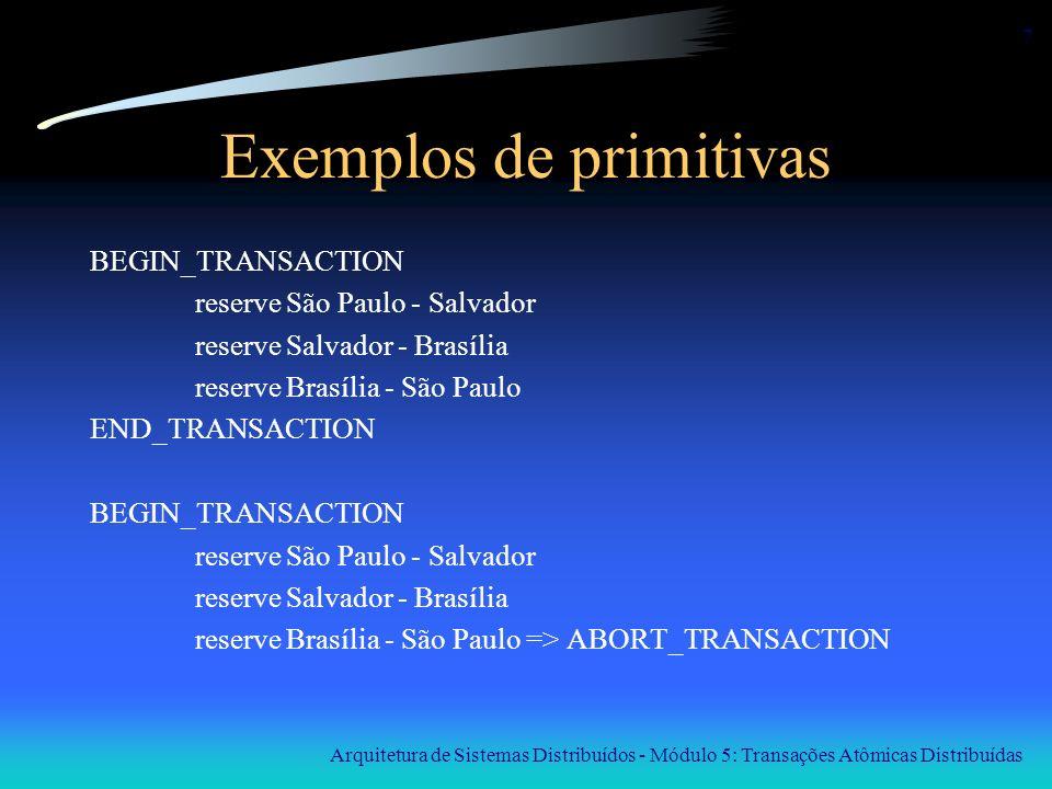 Exemplos de primitivas