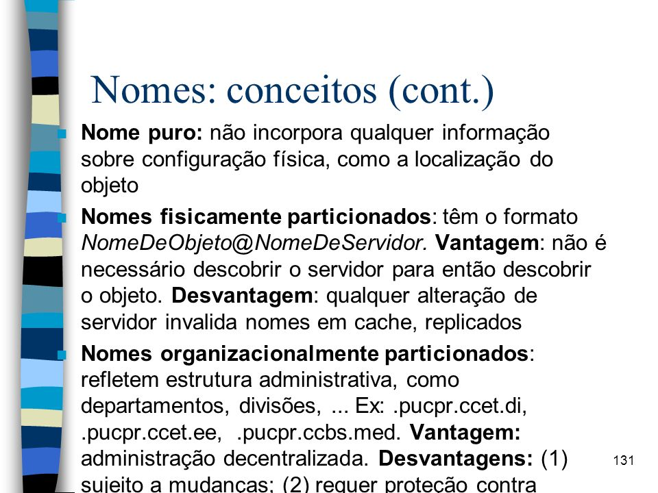 Nomes: conceitos (cont.)