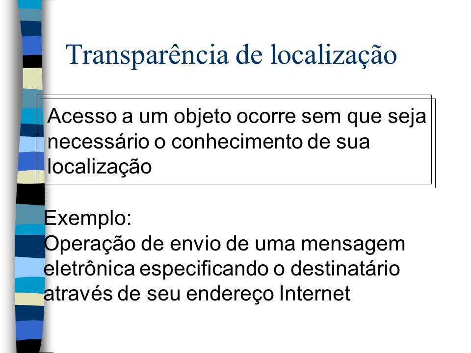 Transparência de localização