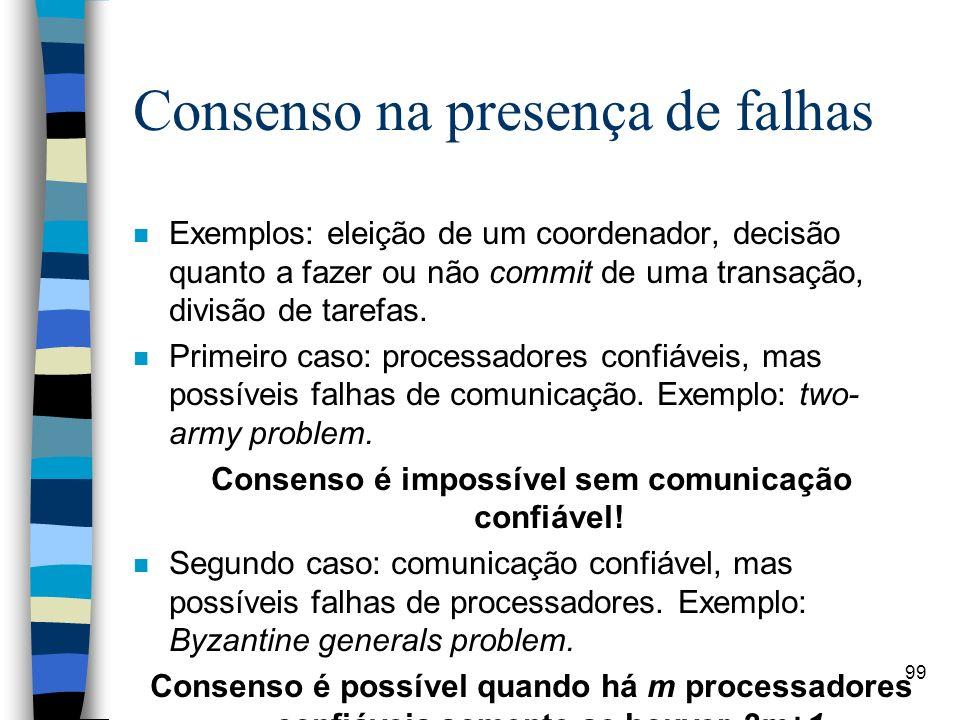 Consenso na presença de falhas