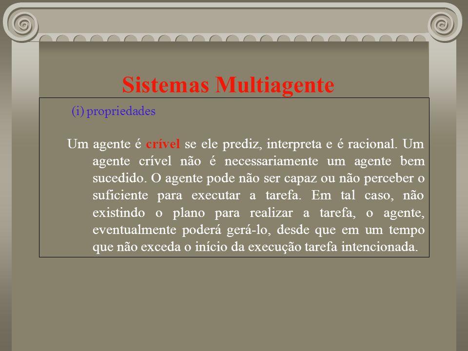 Sistemas Multiagente (i) propriedades