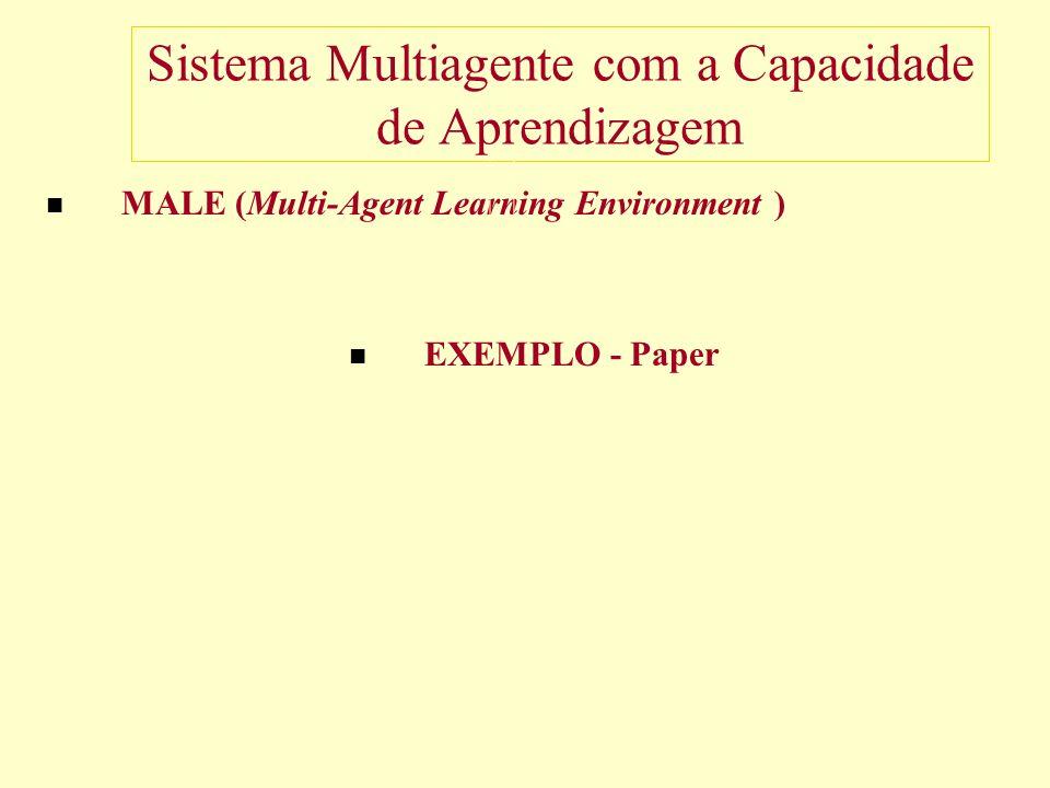Sistema Multiagente com a Capacidade de Aprendizagem