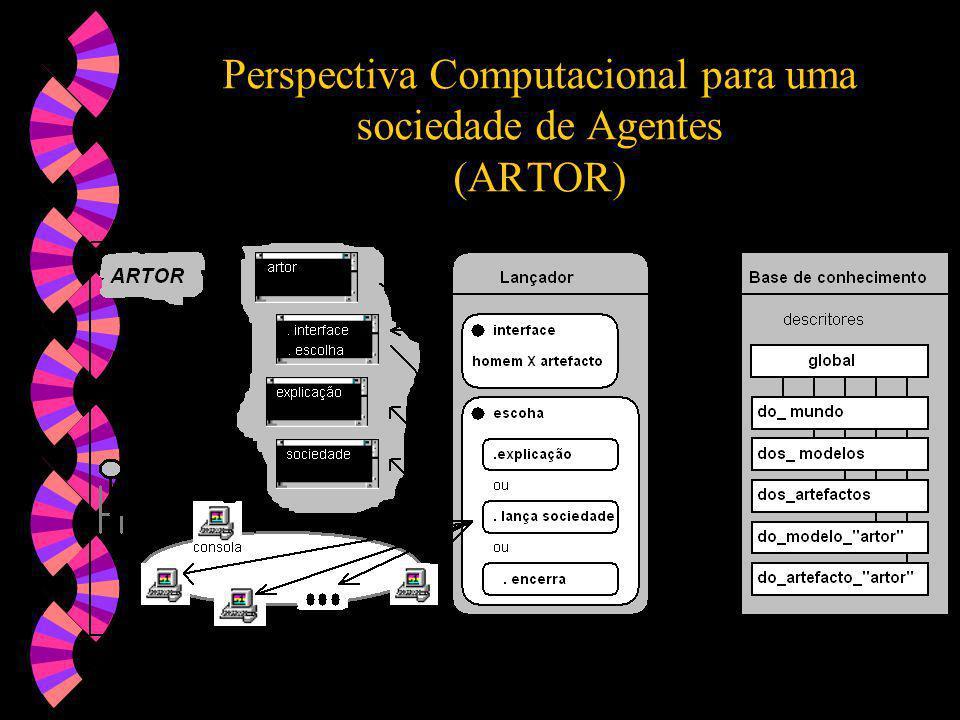 Perspectiva Computacional para uma sociedade de Agentes (ARTOR)