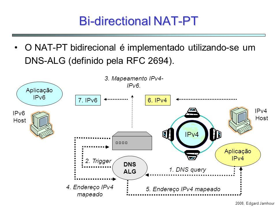 Bi-directional NAT-PT