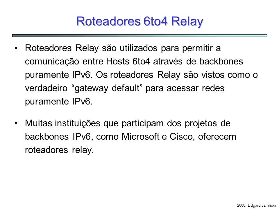 Roteadores 6to4 Relay
