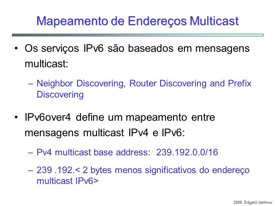 Mapeamento de Endereços Multicast