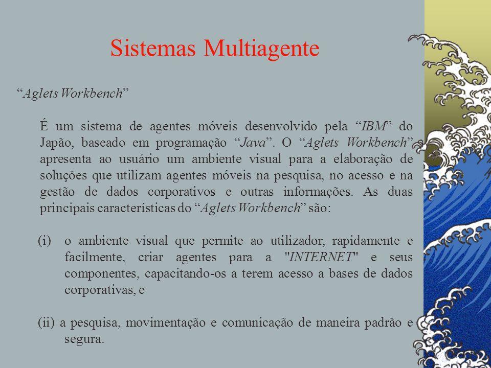 Sistemas Multiagente agentes Aglets Workbench