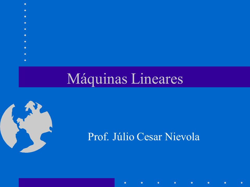 Prof. Júlio Cesar Nievola