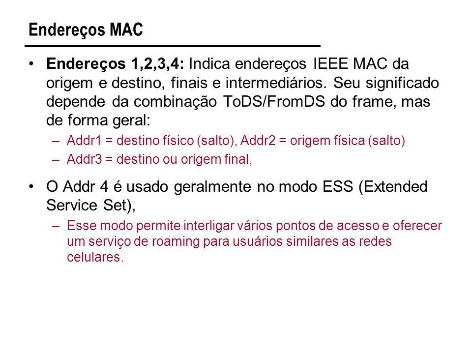 Endereços MAC