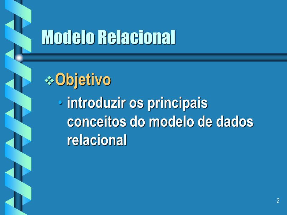 Modelo Relacional Objetivo