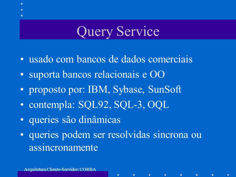 Arquitetura Cliente-Servidor: CORBA
