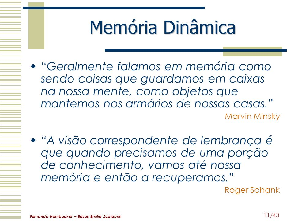 Memória Dinâmica