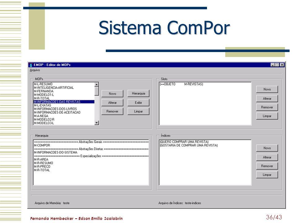Sistema ComPor Fernanda Hembecker – Edson Emílio Scalabrin